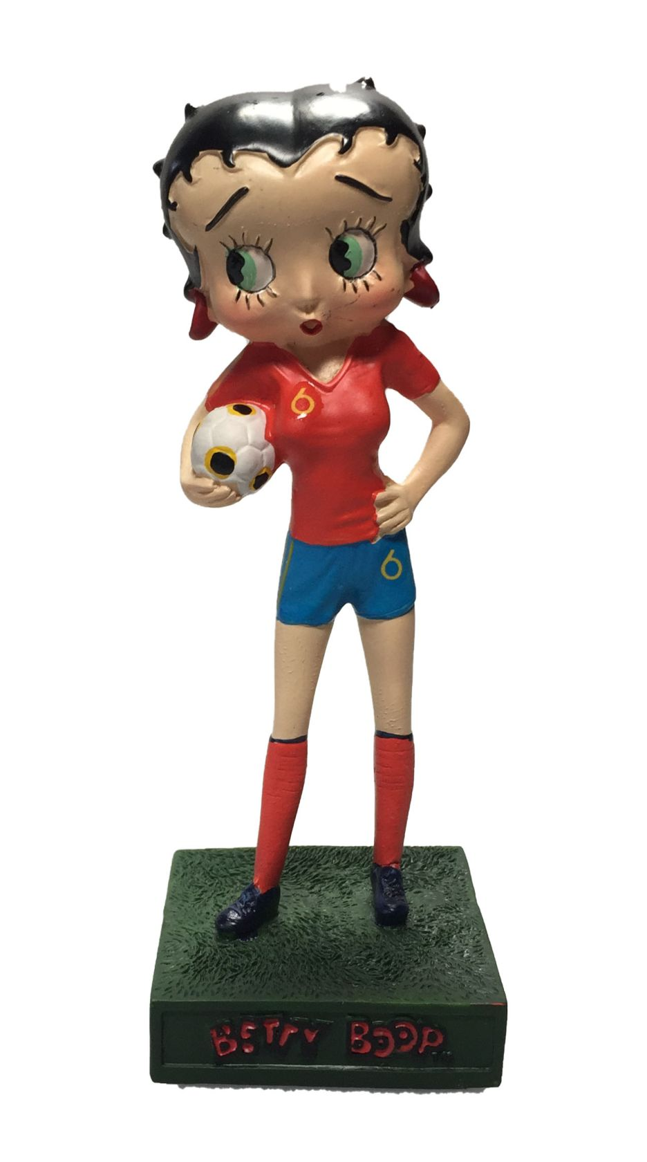 Betty Boop Footballeuse - Équipe d'Espagne-0
