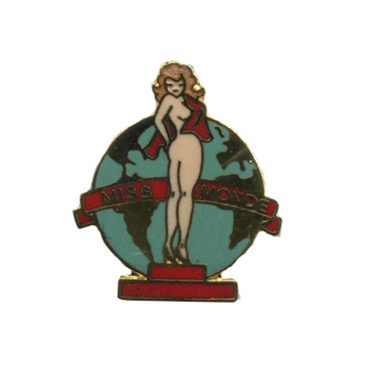 Pin-up Miss monde (Petit modèle)