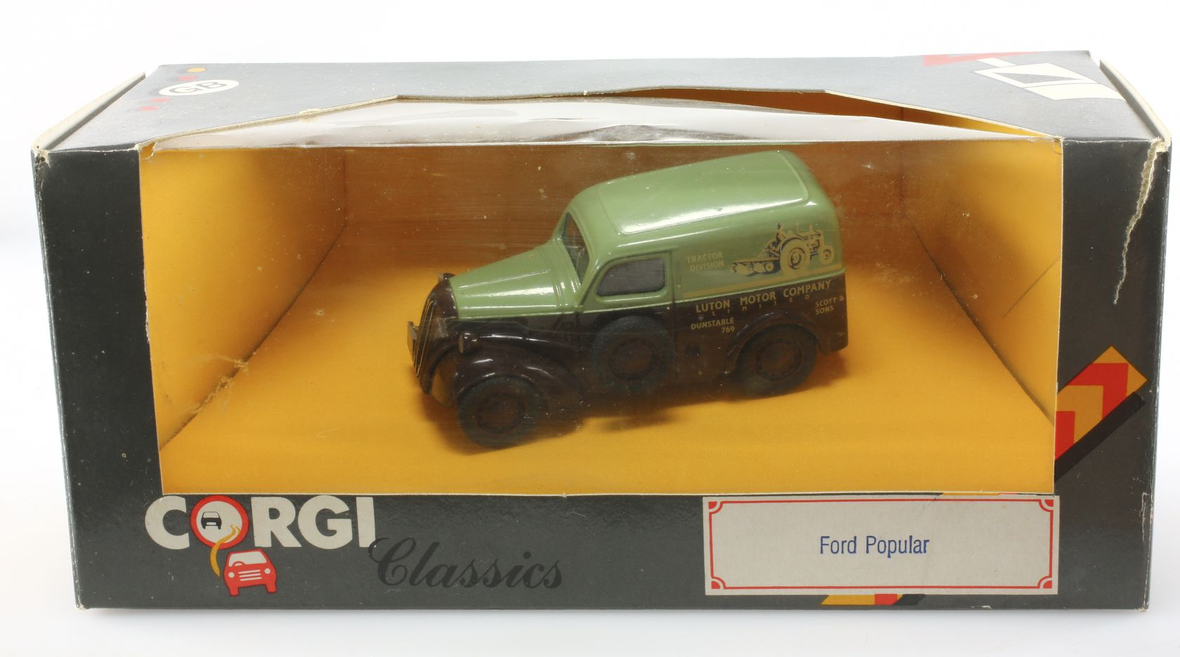 Ford Popular camionnette tractor division 1/43