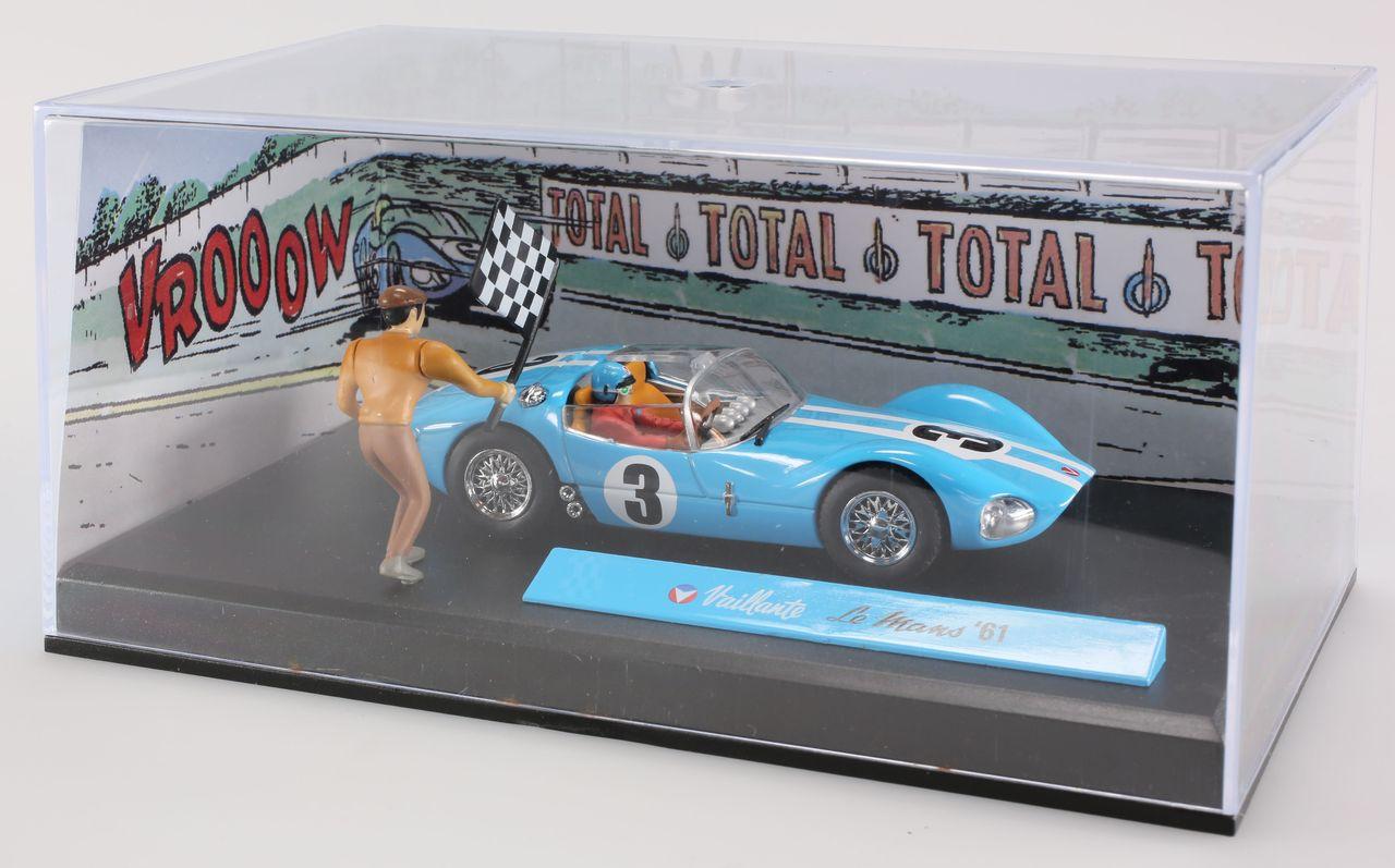 Diorama Bd Michel Vaillant, le Mans 61, 1/43