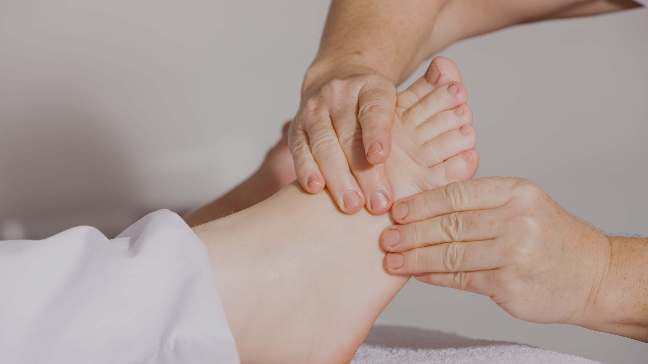 Drenaje Linfático a través de los pies