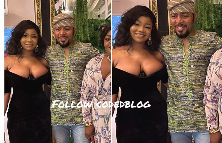 Nigerians criticize Tacha for dressing inappropriately to the AMVCA nominee party