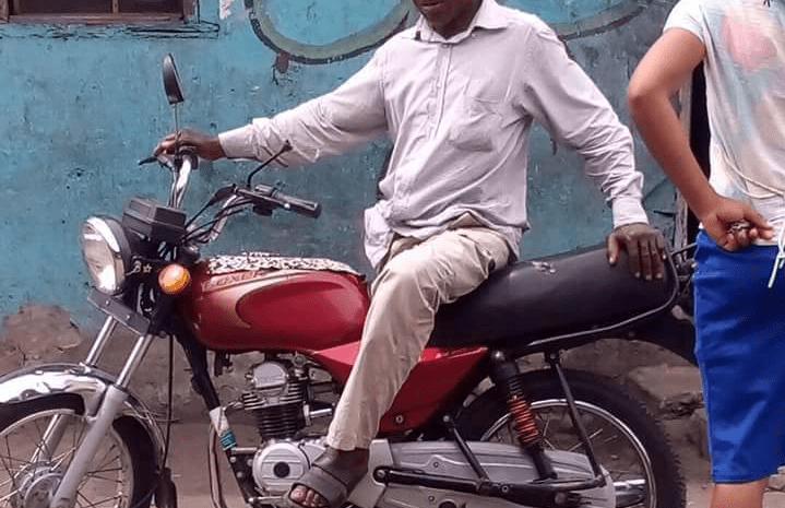 See the pictures of a bike man who looks exactly like Olusegun Obasanjo