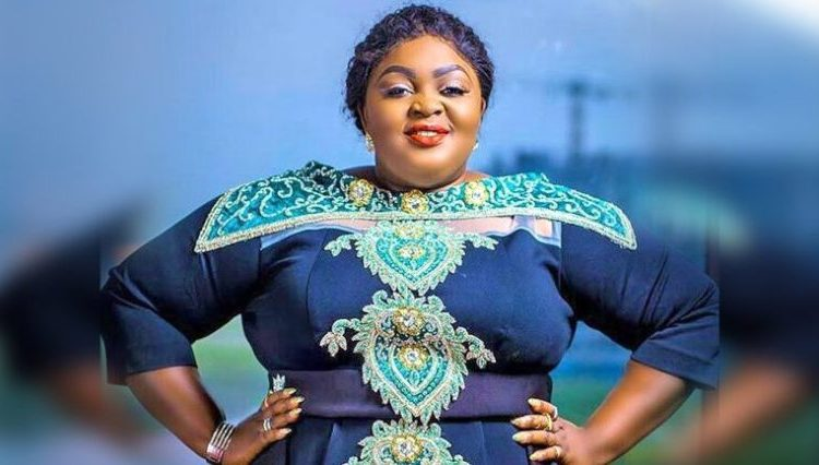 Nollywood Actress, Eniola Badmus Display Her Body In A See Through Bikini outfit (Photo)