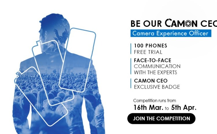 Recruitment Of Tecno Camon Experience Officers