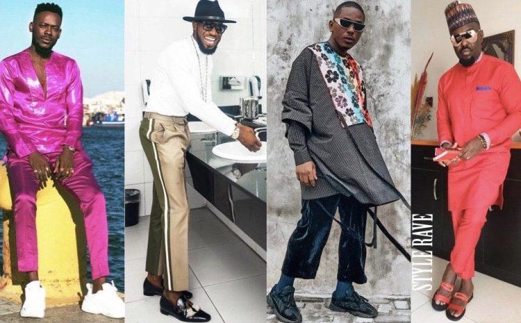 Top 10 Most Stylish Nigerian Male Celebrities