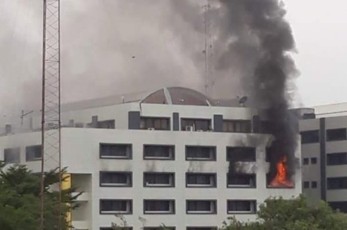 We Have Successfully Put Out Fire At Accountant General's Office – Federal Fire Service