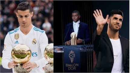 Cristiano Ronaldo Picks 2 Real Madrid stars, 4 others to succeed him and become Great Like Him