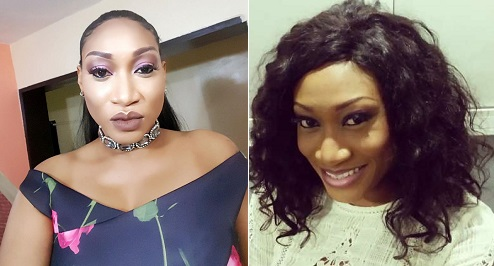 See Beautiful Photos of Nollywood Diva Oge Okoye As She Packs Her Heavy Figure In A Jumpsuit