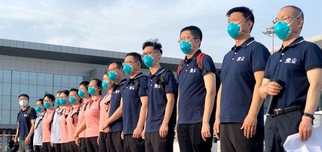Coronavirus: Nigerians Blast Buhari Govt As Chinese Doctors Turn Engineers