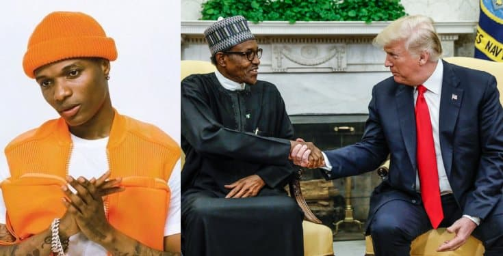 President Buhari and Trump are clueless! – Wizkid fumes