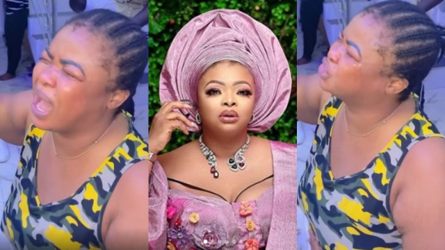 Dayo A - Nollywood actress, Dayo Amusa in sizzling tears after her mom and siblings did this to her
