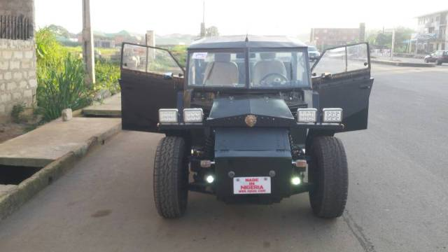 EdHD7 yWsAIHoEO - See What Gifted Nigerian Engineers Used to Construct Bat-Cell Car (Images)