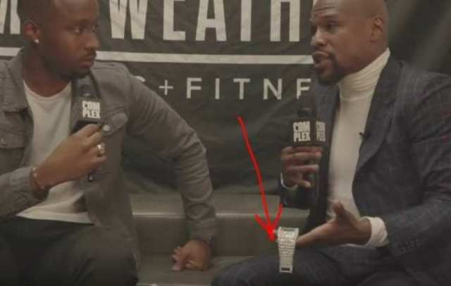 Floyd Mayweather Finally Explains 50 Cent Beef Shows Off 18 Million Dollar Watch - Checkout One Of Floyd Mayweather's Wristwatches (SEE PHOTOS)