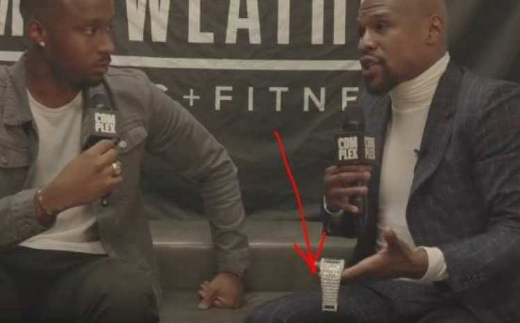 Checkout One Of Floyd Mayweather's Wristwatches (SEE PHOTOS)
