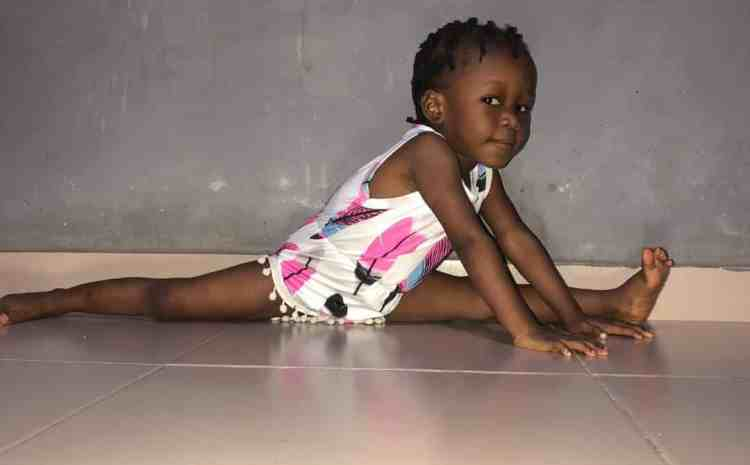 See How This Young Girl Amaze Fans With Her Incredible Yoga Moves (Check Photos)