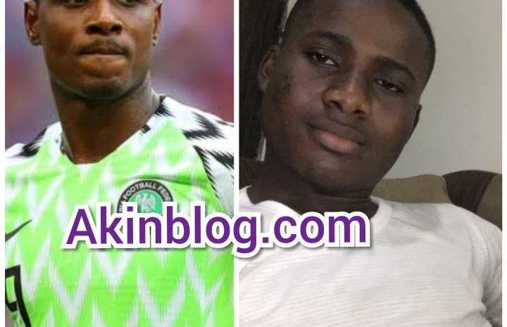 See The Look-Like of Popular Nigerian Footballer, Ighalo (Photos)