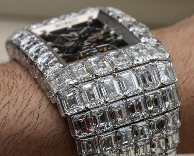 wsnpic1 15 - Checkout One Of Floyd Mayweather's Wristwatches (SEE PHOTOS)