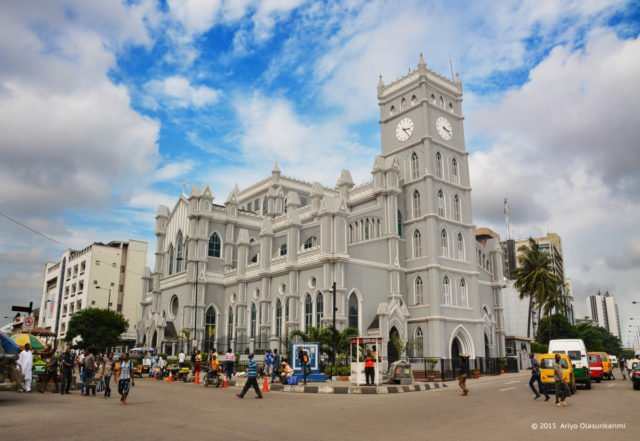 Christ Church Cathedral In Lagos - 96 years old - Here are some of the oldest buildings in Nigeria