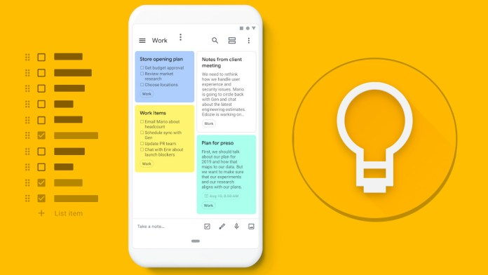 Best Online Tools For Freelance Writers In 2021 - Google Keep