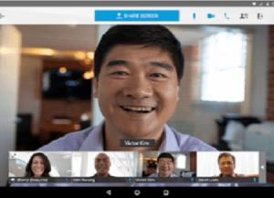 Web Conferencing App for Management Training Seminars