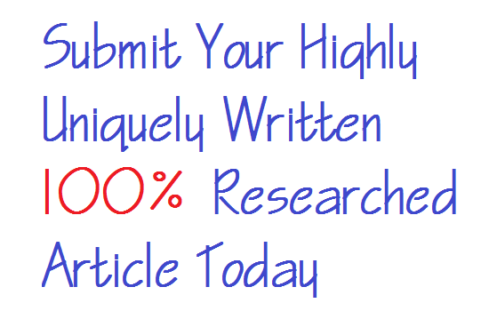 Submit Article - Submit Article