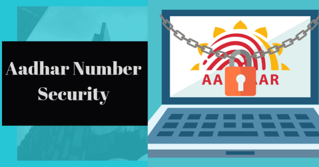 adhar Number Security Enterslice - How to Use and Lock Your Aadhar Biometric Data Online