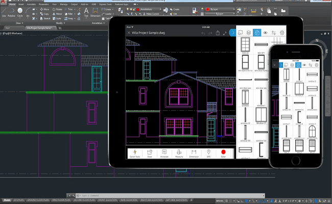 Autocad mobile tutorial