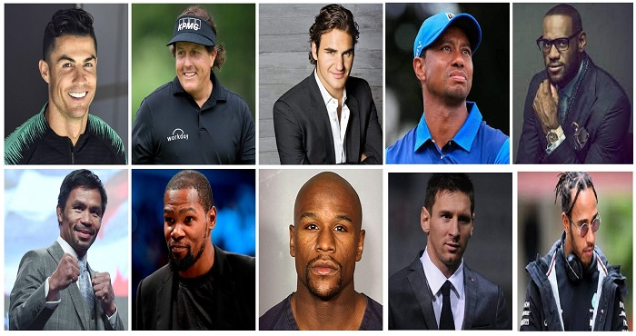 10 Highest Paid Athletes