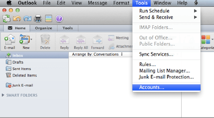Convert Outlook OLM to PST File