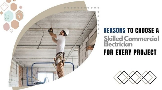 Skilled Commercial Electrician
