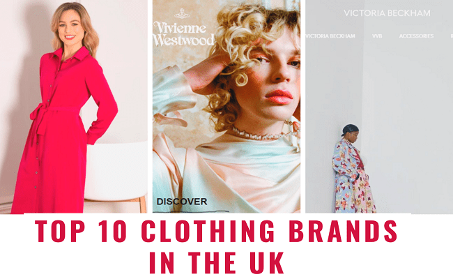 Top 10 Famous Clothing Brands in the UK