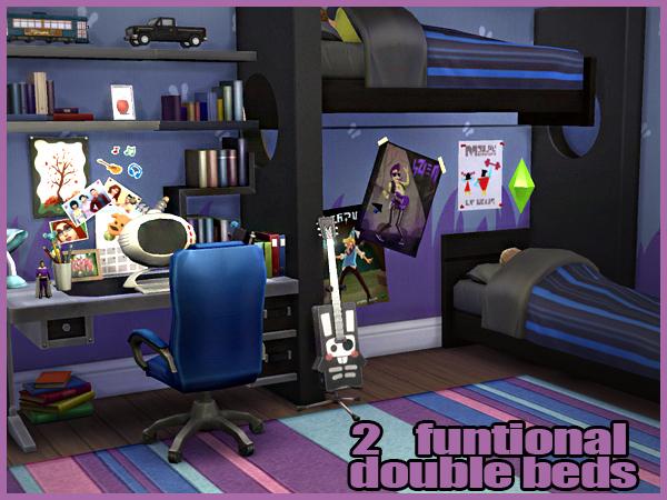 Cool Blue Kids Room