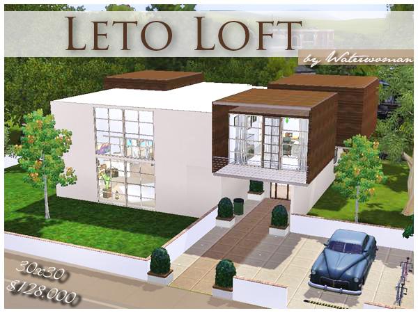 Leto loft for Modernes haus sims