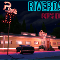RIVERDALE (Netflix Series) - Pop's Diner -