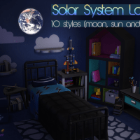 Sonnensystem Lampe