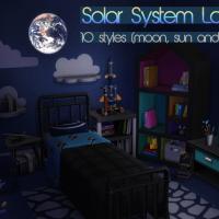 Sonnensystem Lampe