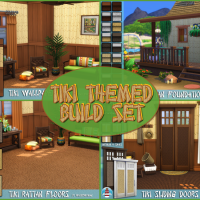 Tiki Themed Build Set