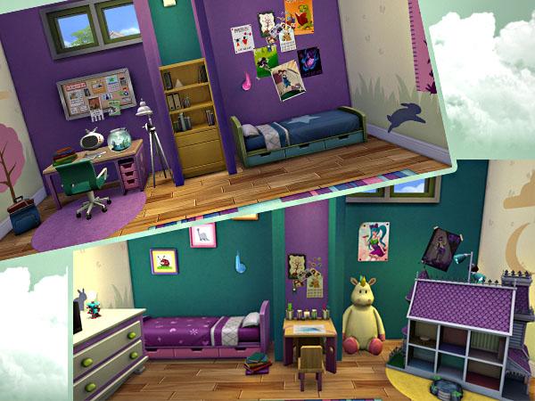 Treehouse Kidsroom