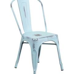 Cafe Chairs Metal Swinging Chair With Stand In Distressed Colors Et 3534 Db Gg Jpg