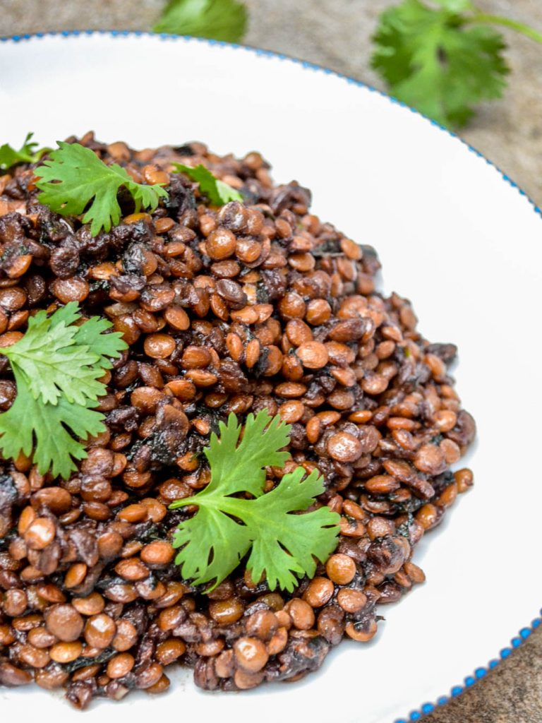 Syrian lentils - recipe / A kitchen in Istanbul