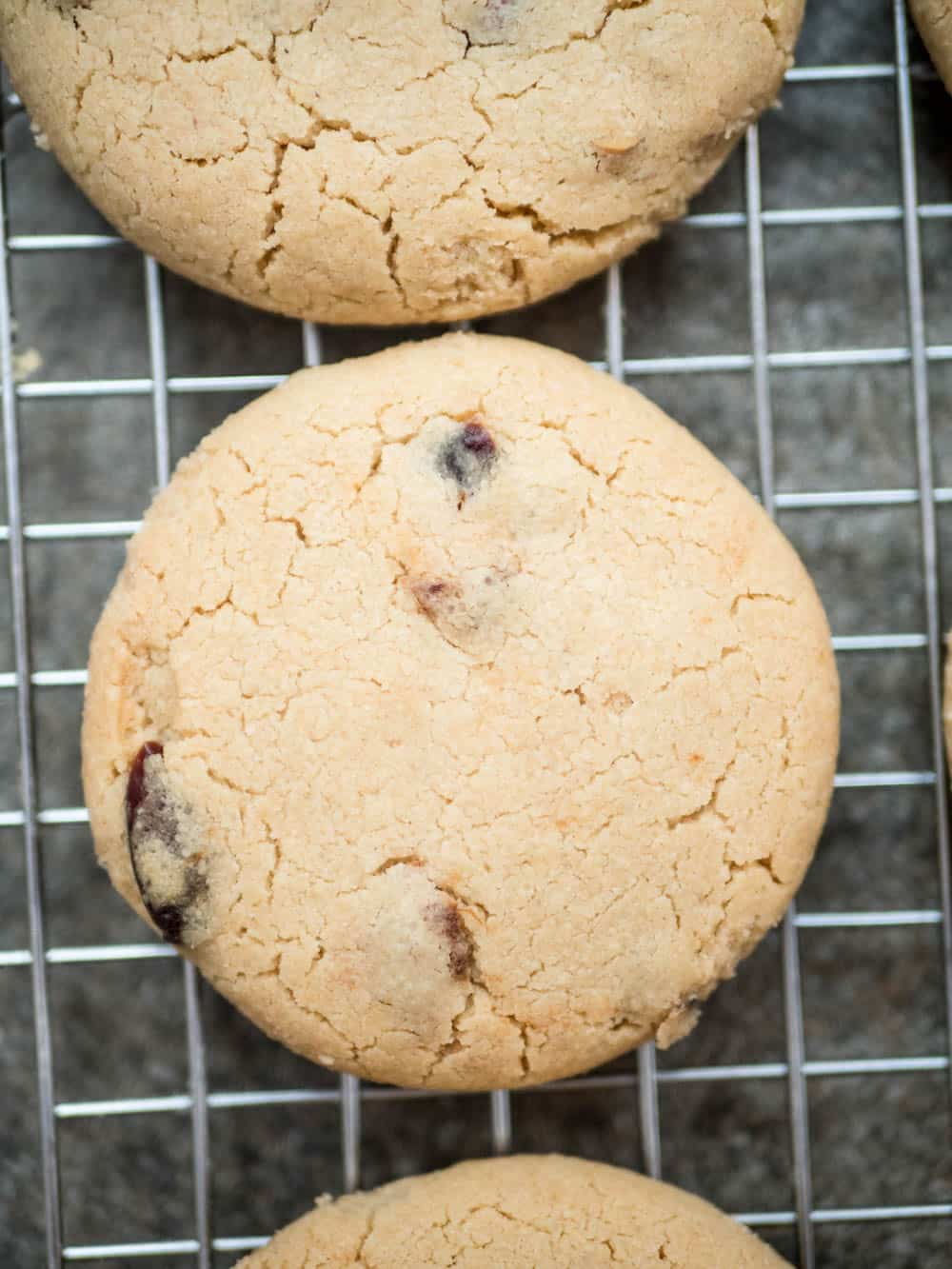 Tahini cookies with cranberry & apricot - recipe / A kitchen in Istanbul