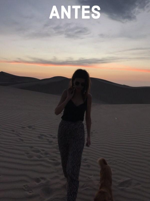 Preset Sahara - Antes