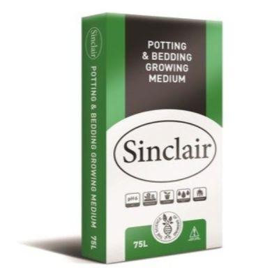 Sinclair Potting & Bedding Growing Medium 75ltr - AK Kin Garden Supplies