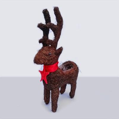 Christmas Reindeer Planter | AK Kin Garden Supplies