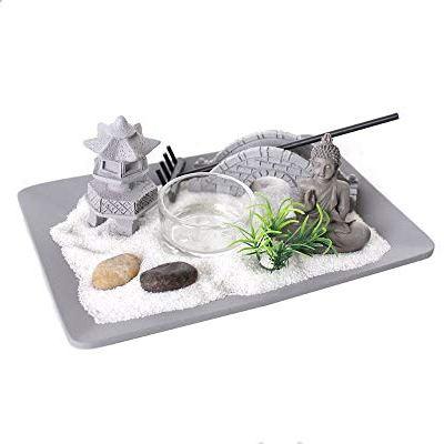 Zen Garden Candle Holder Decorative Tealight Candel Holder Relaxing Indoors Lighting