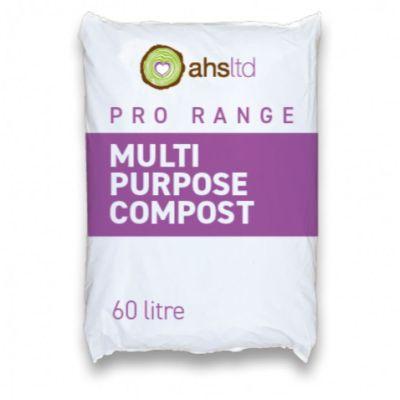 AHS Peat Free Multipurpose Compost Soil 60L Bag