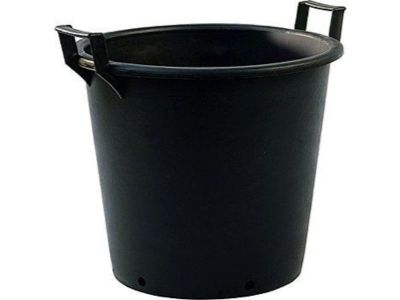 80lt Extra Large Heavy Duty Plastic Tree & Shrub Container Plant Pot with Handles 60 x 43