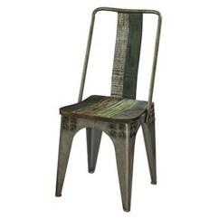 Industrial Dining Chair Sea Grass Chairs Vintage Akku Art Exports Metal Kbkf