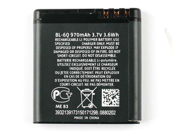 LAPTOP-BATTERIE Nokia BL-6Q